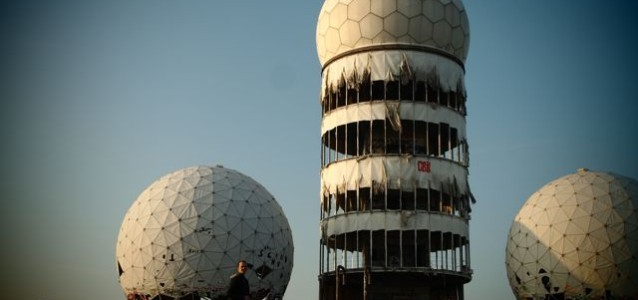 Tynan at Teufelsberg Berlin