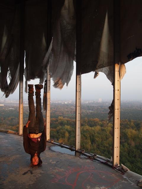 Chris Overlooks Berlin