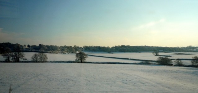 sussex in snow